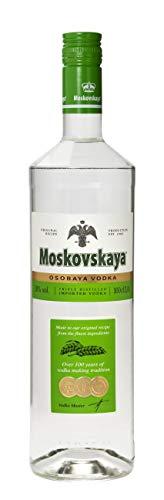 Moskovskaya Vodka - Botella Vodka Ruso de 1L.