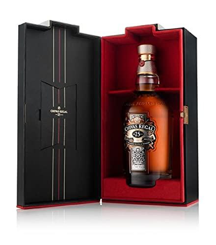 Chivas Regal 25 años Whisky Escocés de Mezcla Premium - 700 ml