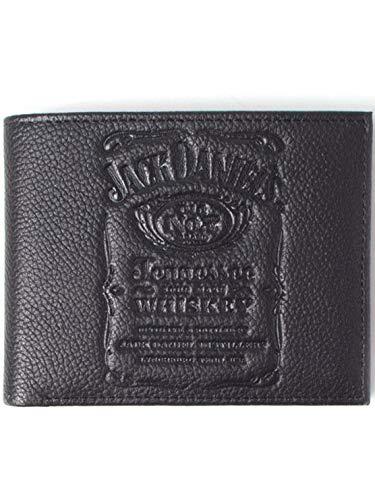 Jack Daniel's Wallets Jack Daniel's - Debossed Logo Bifold Wallet Black