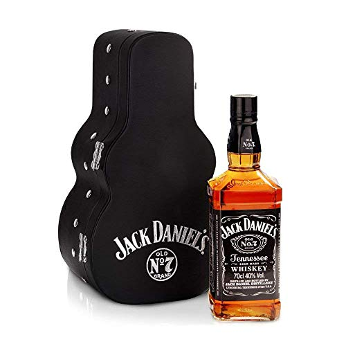 Jack Daniel's Tennessee Whiskey, 70 cl, Pack Guitarra