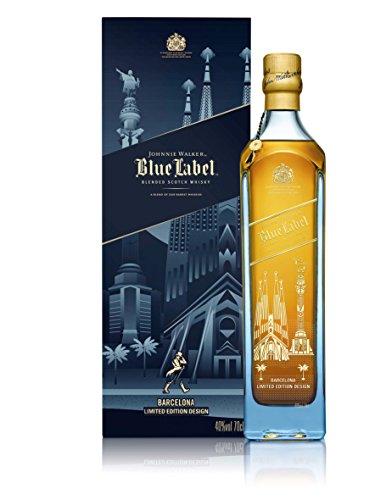 Johnnie Walker Blue Label Whisky Edición Limitada Barcelona - 700 ml