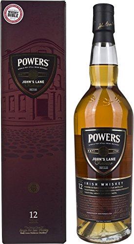 Powers John's Lane 12 Años de Edad Single Pot Whisky Irlandés - 700 ml
