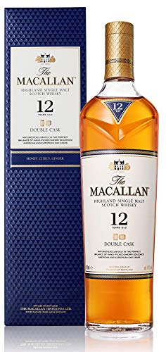 Macallan Double Cask 12 Años Single Malt Whisky Escoces, 40% - 700 ml