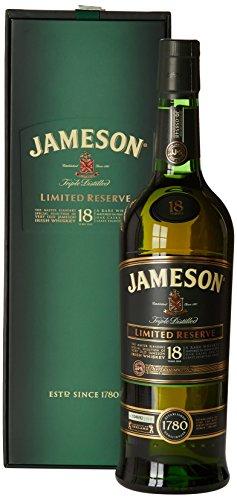 Jameson 18 años com copos