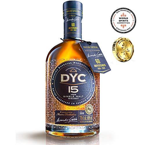 DYC Edición Especial 60 Aniversario Single Malt Whisky de 15 años - 700 ml