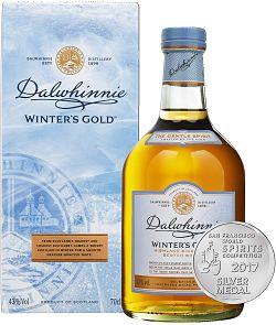 botella de dalwhinnie edición winter's gold