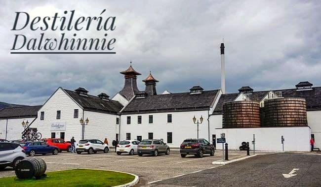 Destilería de Whisky Dalwhinnie