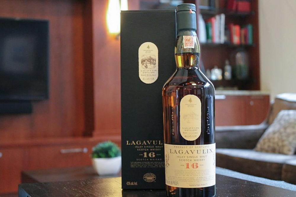 whisky lagavulin 16 precio